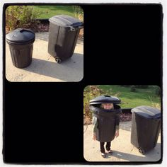 Little girl wanted to be garbage can for Halloween: She's ready to solve mysteries with Scooby Doo!