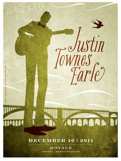 Image of Justin Townes Earle Poster