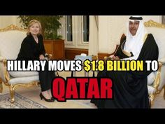 19 Oct '16:  Hillary Clinton Moves $1.8 Billion To Qatar Central Bank - YouTube   Michael Trimm - 18:50
