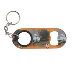 Bodegón/Natureza morta/Still life Keychain Bottle Opener  $12.65  by Dopico  - cyo customize personalize diy idea