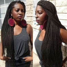 Rope twists-senegalese twists-ghana weaving #braidsbyguvia