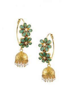 7 Successful Tips: Jewlery Indian Jewelry Earrings Flower.Boho Jewelry Making Jewlery Indian. India Jewelry, Pearl Jewelry, Antique Jewelry, Gold Jewelry, Jewelry Accessories, Vintage Jewelry, Jewelry Design, Ethnic Jewelry, Gold Earrings