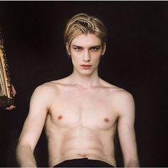 Russian male model Nariman Malanov