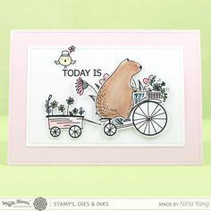 Happy Day Stamp Set – WaffleFlower.com