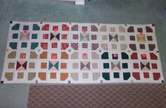 Country Village rows sewn together I Am Happy, Dollar Stores, Frugal, Thrifting, Country, Quilting Ideas, Sewing, Blog, Drawings