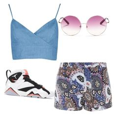 """Untitled #Kamaria"" by kamaria-diani ❤ liked on Polyvore"