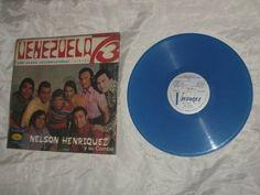Hasta los coleccionistas hacen su agosto / Vendo Vinilo Nelson Henriquez Color Azul - $ 20.000