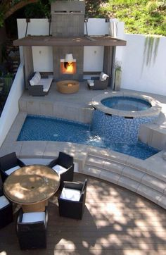 can I have 2 pools, one for the back yard and one outside my master bedroom door