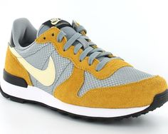 Nike Internationalist femme gris/jaune/beige
