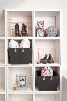 Shop at Cotton On and get Free standard shipping on orders over Wire Basket Decor, Gold Wire Basket, Wire Basket Storage, Wire Storage, Basket Decoration, Wire Baskets, Decor Interior Design, Interior Decorating, Pink And Gold