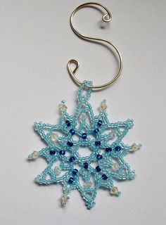 FROZEN Snowflake Ornament  Christmas  Holiday Tree  Light