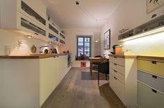 Küche Massivholz Albau Nach Maß Nischen Eiche Weiß Landhaus Stil