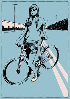 As bicicletas de Adams Carvalho | Criatives | Blog Design, Inspirações, Tutoriais, Web Design