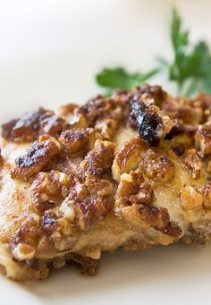 Pecan Crusted Chicken Breasts