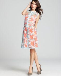 Nanette Lepore Dress - Lace Varsity  Bloomingdale's