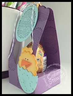 Easter Egg Throne Box - www.SimplySimpleStamping.com - Created by Connie Stewart