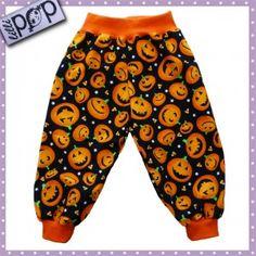 LilliPOP barnkläder: LilliPOP byxor med glada pumpor.