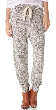 Thakoon Addition Marled Knit Sweatpants   SHOPBOP