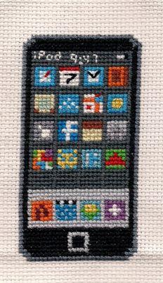 The iStitch iPod X-Stitch by ~Shellfx on deviantART