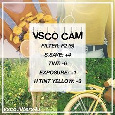 (Bella)| Yellow Filter ☁️| Looks best with yellow or orange pictures! ‼️| Click the link in my bio to get free vsco filters ❤️| Get this to 70 likes for another tutorial | Dm us with any suggestions