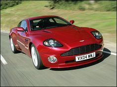 2005 Aston Martin V12 Vanquish 2 Dr S Coupe