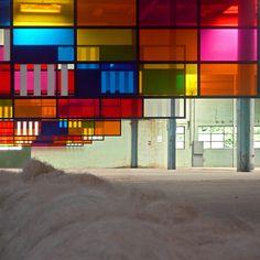 GalleriaContinua@LeMoulin - Enfilade - Daniel Buren
