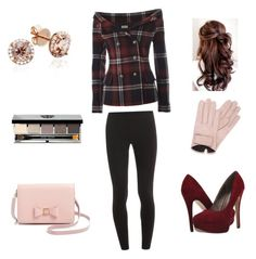 """Cold"" by dariantaylordenis on Polyvore featuring Faith Connexion, Splendid, Michael Antonio, Mario Portolano, Ted Baker and Bobbi Brown Cosmetics"