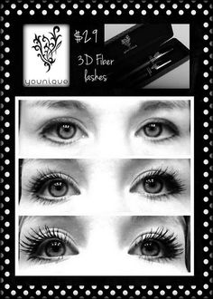 Fiber Lash Mascara by Younique! No glue, NOT fake lashes! 3d Fiber Mascara, 3d Fiber Lashes, 3d Fiber Lash Mascara, Younique Mascara, 3 D, Eye Makeup, Younique Presenter, Fake Lashes, False Eyelashes