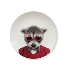 Turn lunch and dessert into an artistic safari with these adorable animal picture plates and bring a whole new meaning to the term salad dressing CERAMIC PLATE: Mustards ceramic plates are the perfect kitchen accessory. These special plates with funny motives bring fun to every table. Stop boring meals, make eating more interesting! PERFECT GIFT: This