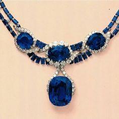Suspending the 'Blue Princess', a 114.30 carats Sapphire #highjewellery #royaljewellery #sapphire #diamonds #christiesjewellery