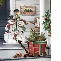 """Uses 3 AA LED Christmas Village Tree Farm Battery Operated 6/""""H x 7/""""W x 4/""""D"""