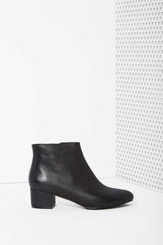 Jeffrey Campbell Mod Pod Leather Boot   Shop Shoes at Nasty Gal
