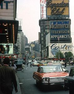 NYC. Manhattan, 1964.