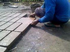 Cara membuat batu bata tradisional