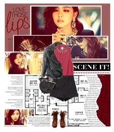 """""""Ailee"""" by umkkey ❤ liked on Polyvore featuring Proenza Schouler, Alexander McQueen, H&M, Illesteva and 8 Other Reasons"""