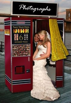 While the photo booth is still a novelty in many markets, like all popular rental trends the number of photo booth suppliers and vendors is . Photo Booth For Sale, Prom Dresses, Formal Dresses, Wedding Dresses, Photo Booth Design, Vintage Photo Booths, California Wedding Venues, White Dress, Nyc