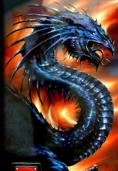 airbrush art gallery | Wizard Graphics - Pinstriping & Airbrush Art - Gallery - DragonFire