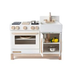 Pottery Barn Kids, Kidcraft Kitchen, Budget Personnel, Best Play Kitchen, Cooking Competition, Large Oven, Under Sink, Grey Kitchens, Baltic Birch Plywood