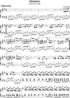 Partituras TripleClef: Summer - Joe Hisaishi (Piano)