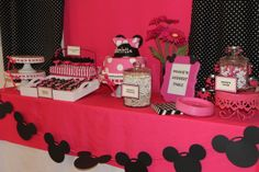 Minnie Mouse Birthday Party Ideas | Photo 5 of 34