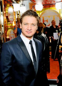 Jeremy Renner-great actor...the best of all.