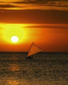 Jimbaran Puri Bali - Bali, Indonesia #Jetsetter - such a gorgeous sunset!  #JSSunrise