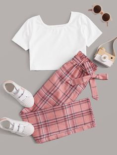 Really Cute Outfits, Cute Lazy Outfits, Kids Outfits Girls, Girls Fashion Clothes, Teen Fashion Outfits, Retro Outfits, Girly Outfits, Cute Fashion, Stylish Outfits