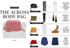 4 Ways to Wear - Across Body bags | Wardrobe ICONS Issue 27
