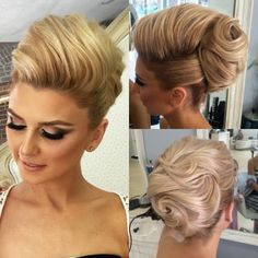 Blessed to have the most beautiful clients elegant up do for this beauty makeup by hairbyme almost 2 month left for my seminar in la at you can purchase your ticket by clicking the link in mi bio so happy to meet you all Beehive Hairstyles, Vintage Hairstyles, Up Hairstyles, Pretty Hairstyles, Wedding Hairstyles, Hair Up Styles, Pinterest Hair, Love Hair, Hair Dos