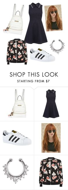 """""""Untitled #114"""" by lilicabsilveira-1 on Polyvore featuring River Island, RED Valentino, adidas, Prism and New Look"""