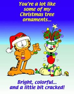 funny christmas pictures, garfield - Dump A Day