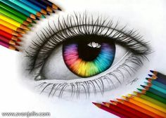 Beautiful Art Drawing Coloring Eye - What Is Your True Eye Color Eye Art Color Pencil Art Colorful Eye Colored Pencil Drawing By Parvaaz Coloredpencils Eyes Eye Eye Drawing Color At Paint. Amazing Drawings, Cool Art Drawings, Pencil Art Drawings, Colorful Drawings, Art Drawings Sketches, Amazing Art, Drawing Ideas, Drawing Tutorials, Art Illustrations