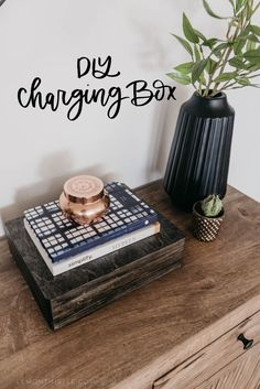 DIY Charging box for phone and ipad. : DIY Charging box for phone and ipad. Diy Valentine's Pillows, Make Your Own Pillow, Diy Blanket Ladder, Ipad, Pillow Box, Decorating Tips, Diy Furniture, Diy And Crafts, Easy Diy