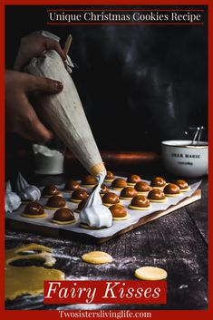 Unique Christmas Cookie Recipe, Best Christmas Cookies, Christmas Goodies, Merry Christmas, Real Food Recipes, Sweet Recipes, Cookie Recipes, Yummy Food, Brunch Recipes